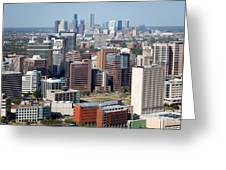 Texas Medical Center In Houston Greeting Card