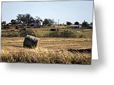 Texas Ranch Scene Greeting Card