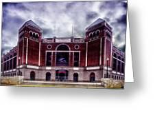 Texas Rangers Ballpark In Arlington Texas Greeting Card
