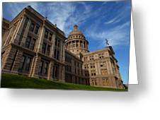 Texas State Capitol 3 Greeting Card