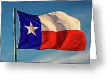 Texas State Flag - Texas Lone Star Flag Greeting Card