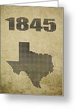 Texas Statehood Greeting Card