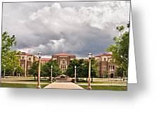 School Of Education Greeting Card
