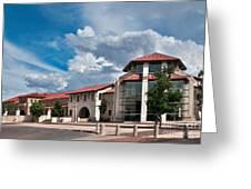 Texas Tech Student Union Greeting Card