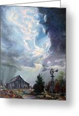 Texas Thunderstorm Greeting Card