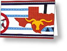 Texas Toast Greeting Card