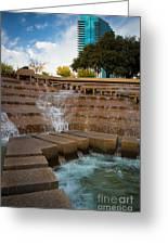 Texas Water Gardens Greeting Card