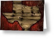 Texas Wood Greeting Card