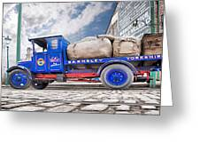 Textiles Truck Greeting Card