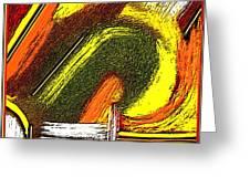 Textural 195 Greeting Card