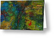 Textural Fortitude Greeting Card