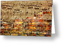 Texture And Timbre Greeting Card