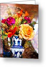Textured Bouquet Greeting Card