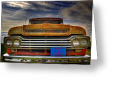 Textured Ford Truck 1 Greeting Card