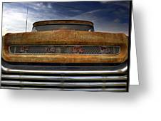 Textured Ford Truck 2 Greeting Card