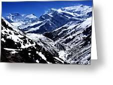 The Annapurna Circuit - The Himalayas Greeting Card