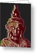 Thai Buddha #3 Greeting Card