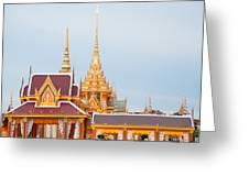 Thai Construction Design. Greeting Card