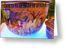 Thai Design Ceramics Greeting Card
