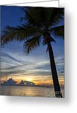 Thailand Sunset Sunrise Greeting Card