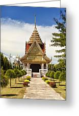 Thailand Temple Greeting Card