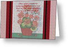 Thank You Mother Dear Greeting Card