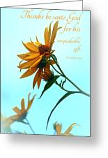 Thankfulness Greeting Card