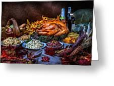 Thanksgiving Dinner Greeting Card
