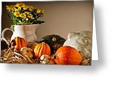 Thanksgiving Still Life Greeting Card