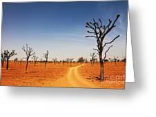 Thar Desert Greeting Card