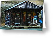 That Old Shack Greeting Card