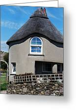 Thatched Cottage Gayleen Ireland Greeting Card