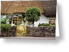 Thatched Cottage House Greeting Card