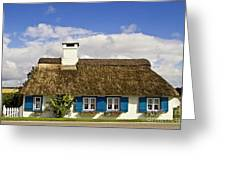 Thatched Country House Greeting Card