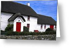 Thatched Roof House Greeting Card