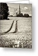 Thaxted Gloaming Thaxted Mill Greeting Card