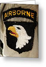 The 101st Airborne Division Emblem Greeting Card