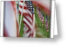 The 10th Anniversary Of 9-11-2001 Forest Park St Louis Mo Img 5708 Greeting Card