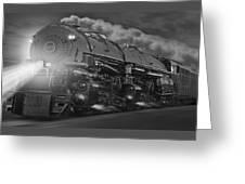 The 1218 On The Move - Panoramic Greeting Card