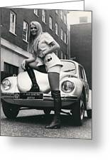 The 14 Millionth Volkswagen Beetle Given To The World Greeting Card