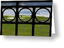 The 18th Hole Greeting Card