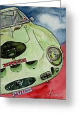 The 1962 Ferrari 250 Gto Was Built For Sir Stirling Moss Greeting Card