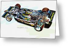 The 1978 F1 Lotus Greeting Card