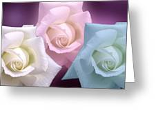 The 3 Graces Greeting Card by Joan-Violet Stretch