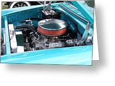 The 327 In A 1955 Chevy Greeting Card