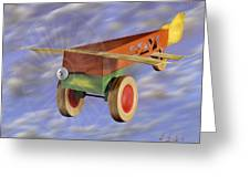 The 356th Toy Plane Squadron 2 Greeting Card