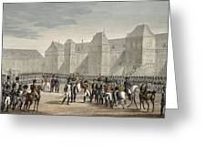 The Abdication Of Napoleon Greeting Card