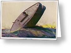 The Ability Of The Tank To  Proceed Greeting Card