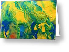The Abstract Earth Greeting Card