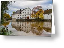 The Academy Mill Ws Greeting Card